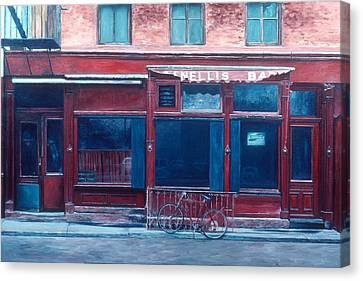 Bar Soho Canvas Print