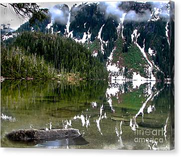 Baranof Lake Canvas Print by Robert Bales