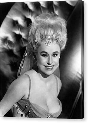 Barbara Windsor In Carry On Spying  Canvas Print by Silver Screen
