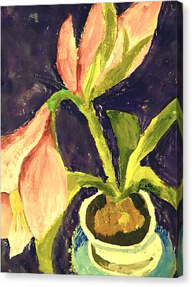 Barbara's Lily Canvas Print by Valerie Lynch