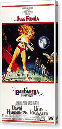Barbarella, Us Poster, Jane Fonda, 1968 Canvas Print by Everett
