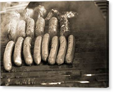 Barbecue Canvas Print by Dan Sproul