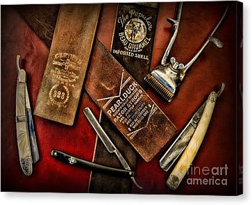 Barber - Barber Tools Of The Trade Canvas Print by Paul Ward