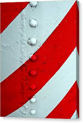 Barber Pole Canvas Print by Chris Berry