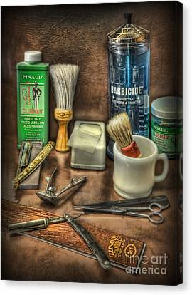 Barber Shop Tools  Canvas Print by Lee Dos Santos
