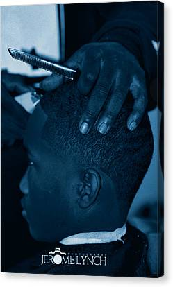 Barbershop  Art Canvas Print