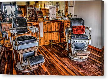 Barbershop Canvas Print by Ray Congrove