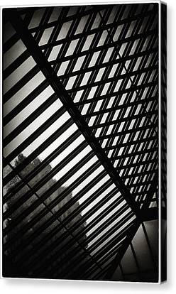 Barbican Grids Canvas Print by Lenny Carter