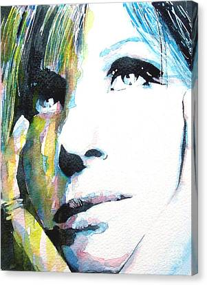 Catch Canvas Print - Barbra by Paul Lovering