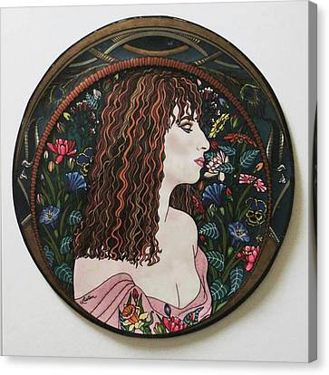 Barbra's Garden Canvas Print