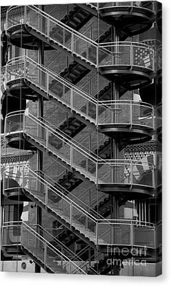 Barcelona Stairs II Canvas Print