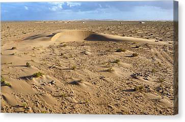 Moroccan Canvas Print - Barchan Dune by Thierry Berrod, Mona Lisa Production
