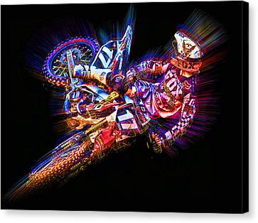 Barcia Whip Canvas Print by Ethan Deloache