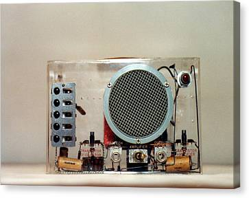 Bardeen Transistor Music Box Canvas Print by Emilio Segre Visual Archives/american Institute Of Physics