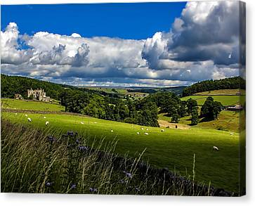 Barden Tower Canvas Print by Trevor Kersley