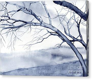 Bare Trees Canvas Print - Bare Trees by Hailey E Herrera