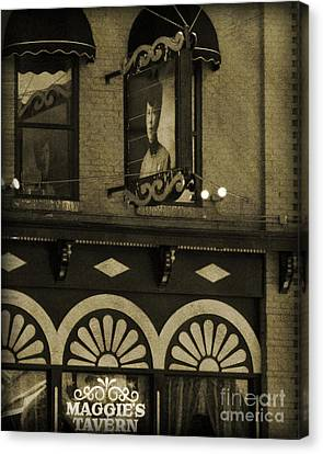 Canvas Print featuring the photograph Barhopping At Maggies 2 by Lee Craig