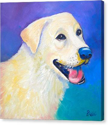 Barkley Canvas Print by Debi Starr