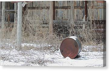 Barn #38 Canvas Print by Todd Sherlock