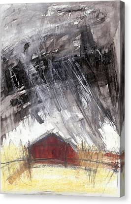 Barn Canvas Print by A K Dayton