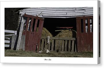 Barn Cats Canvas Print by Gina Munger
