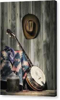 Jugs Canvas Print - Barn Dance Hoe Down by Tom Mc Nemar