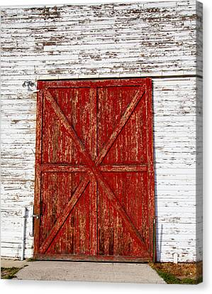 Barn Door Canvas Print by Fran Riley