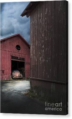 Barn Find Canvas Print by Edward Fielding
