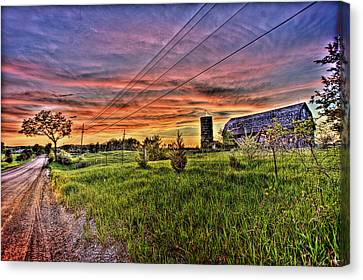 Barn Finds Canvas Print
