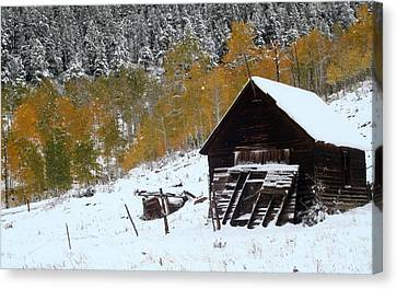 Barn In The San Juan Mountains Canvas Print by Jetson Nguyen
