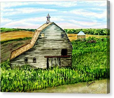 Barn Near Stanton Nebraska Canvas Print