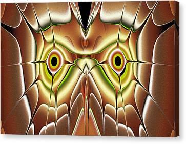 Barn Owl Canvas Print by Anastasiya Malakhova
