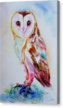 Visual Creations Canvas Print - Barn Owl by Isabel Salvador