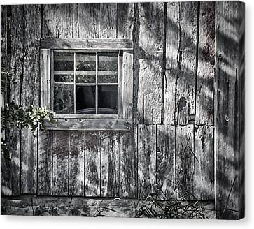 Barn Window Canvas Print by Joan Carroll