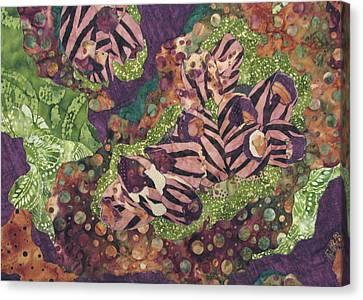 Barnacles Canvas Print by Lynda K Boardman