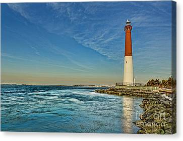 Barnegat Lighthouse - Lbi Canvas Print by Lee Dos Santos