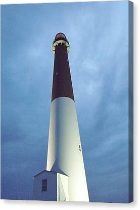 Barnegat Lighthouse Canvas Print by John Wartman