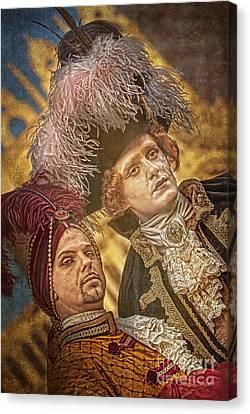 Baroque Gents  Canvas Print by Danilo Piccioni