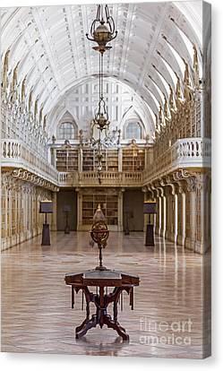 Baroque Library  Canvas Print by Jose Elias - Sofia Pereira