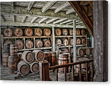 Barrels Canvas Print
