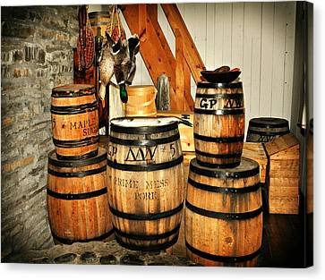 Barrels  Canvas Print by Marty Koch
