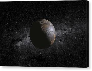 Barren Earth Canvas Print