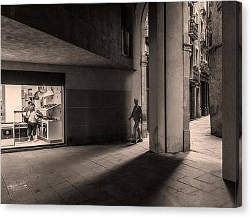 Barri Del Born, Barcelona Canvas Print