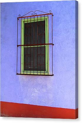 Barrio Historico Canvas Print by Brenda Pressnall
