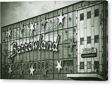 Barrowland Glasgow Canvas Print by Liz Leyden