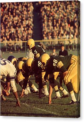 Bart Starr In Action Canvas Print