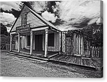 Barthel General Merchandise Store Canvas Print