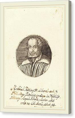 Barthel Beham German, 1502-1540, Michael Roting Canvas Print by Litz Collection