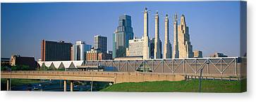 Bartle Hall Kansas City Mo Canvas Print by Panoramic Images