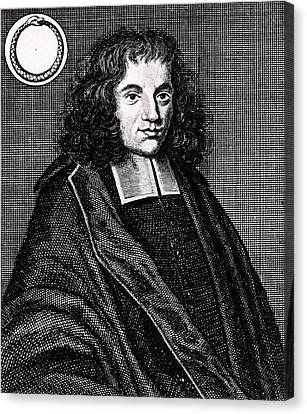 Baruch Spinoza Canvas Print by Universal History Archive/uig